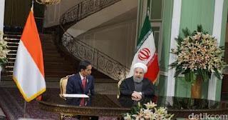 Hasil Kunjungan Presiden Jokowi ke Iran, Inilah Tiga Kesepakatan Kerjasama yang Bakal Dilaksanakan Antara Indonesia dan Iran