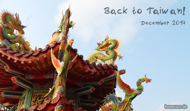Back to Taiwan!