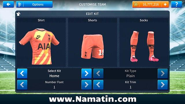 Url Seragam Dream League Soccer Tottenham