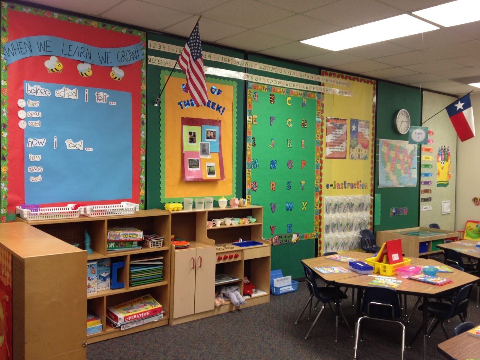 My Kindergarten Classroom 2012