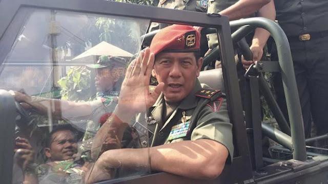 Jokowi akan Lantik Mantan Komandan Paspampres Era SBY jadi Kepala BNPB