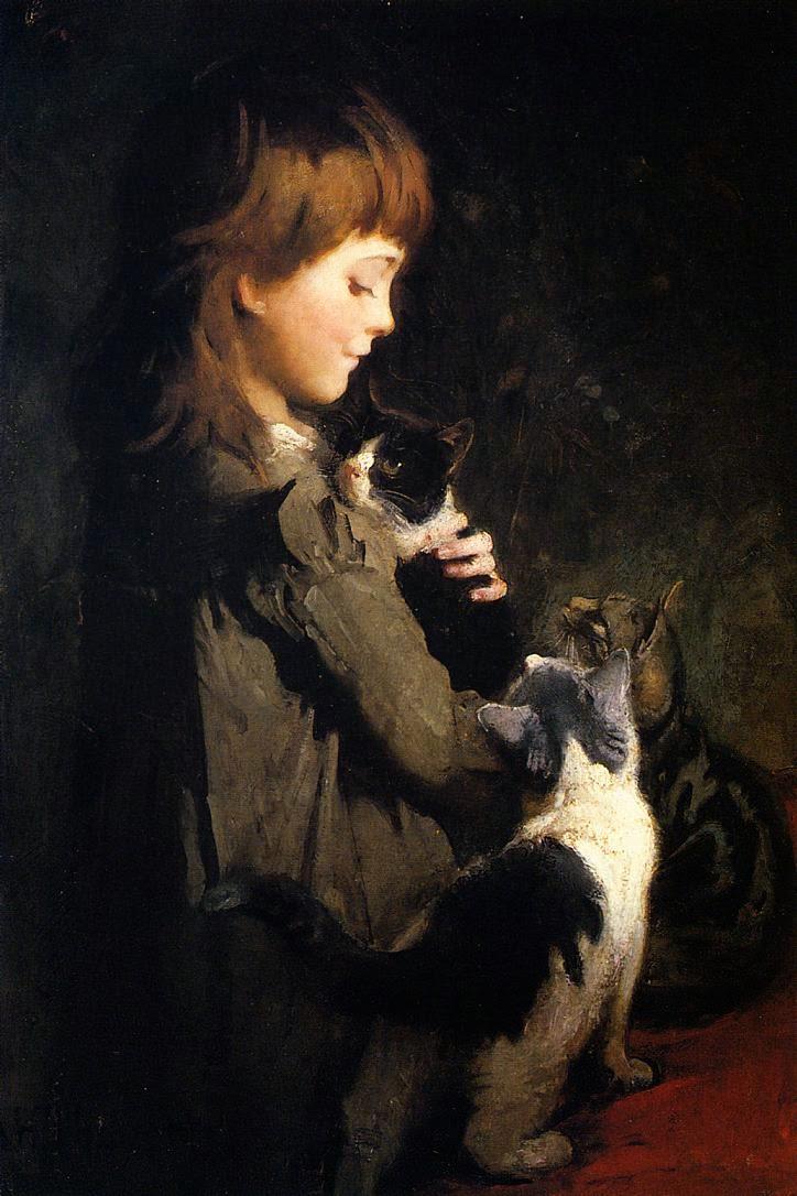 Abbott Handerson Thayer, American Artist (1849-1921 ...