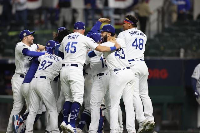 Fin de la maldición, Dodgers campeón