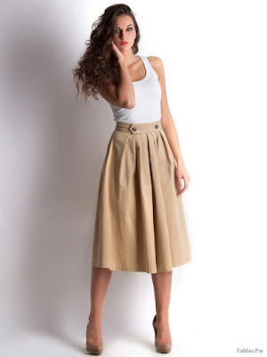 Faldas con Pretina Ancha