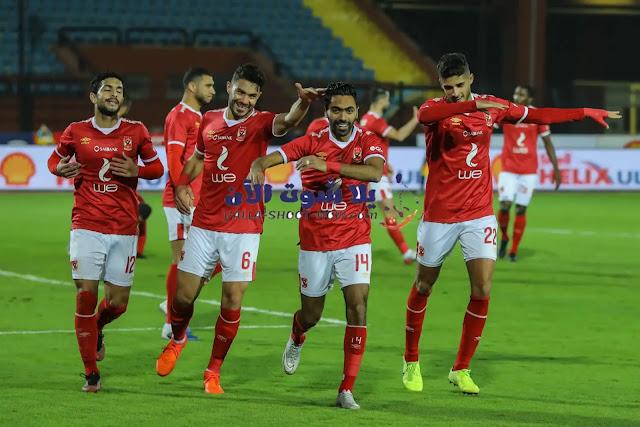يستعد النادي الاهلي في خوض لقاء جديد امام وادي دجلة يوم الجمعة القادمة الموافق 4/9/2020