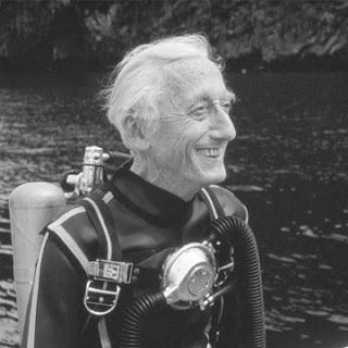 Kaptan Cousteau (Kusto) ve deniz sevgisi