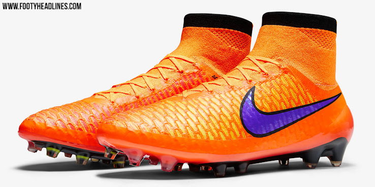 32e976404 The new orange Nike Magista Obra 2015 Intense Heat Pack Soccer Cleats  Colorway features bright colors. Made for the attacking midfielder, players  like Mario ...