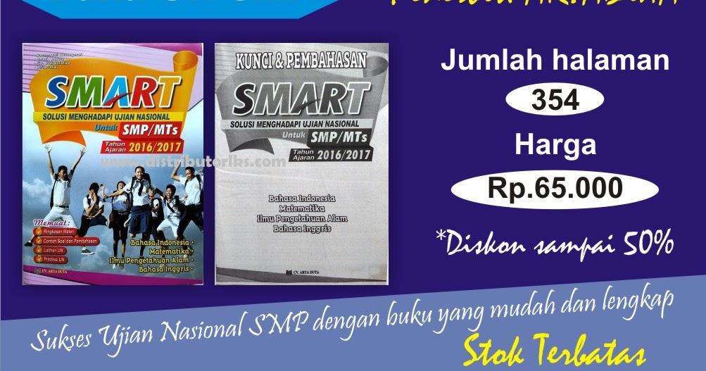 Jual Buku Un Smp Smart Thn 2017 Aryaduta Distributor Lks