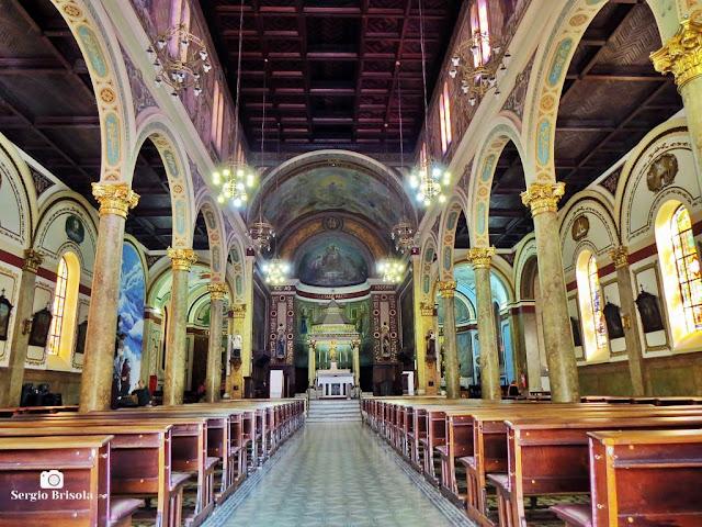 Vista do interior da Paróquia São José Do Ipiranga - São Paulo