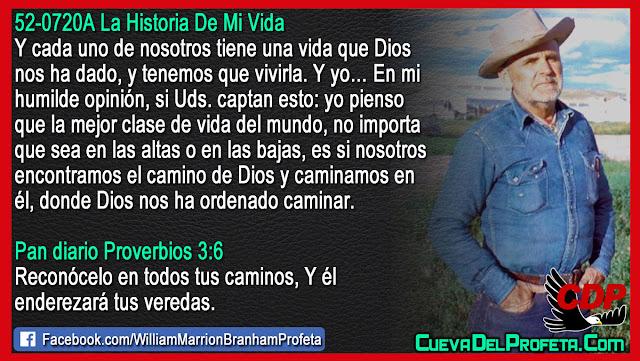 Reconócelo en todos tus caminos Y él enderezará tus veredas - William Branham en Español