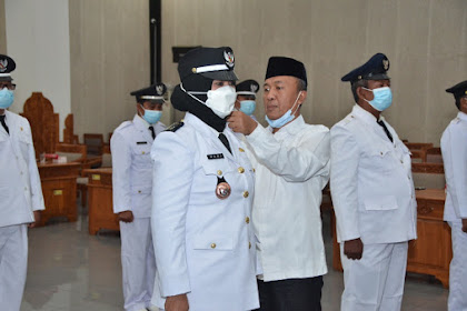 11 Penjabat Kepala Desa Persiapan di Lombok Barat Dilantik