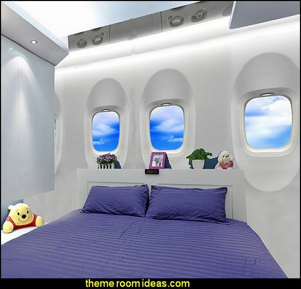 airplane bedroom ideas sky wallpaper airplane bedroom wall decorations