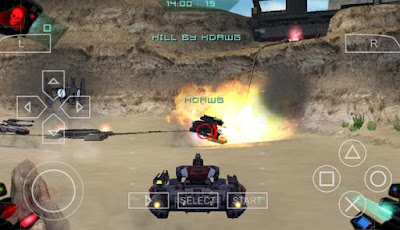 Download BattleZone PSP CSO ISO High Compress
