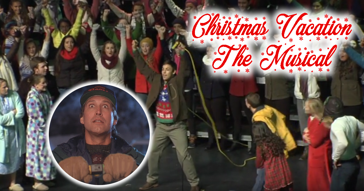 Watch Two Versions of National Lampoon's Christmas Vacation as a Musical