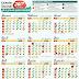 Download kalender 2017 HD PDF beserta tanggal puasa wajib dan sunnah