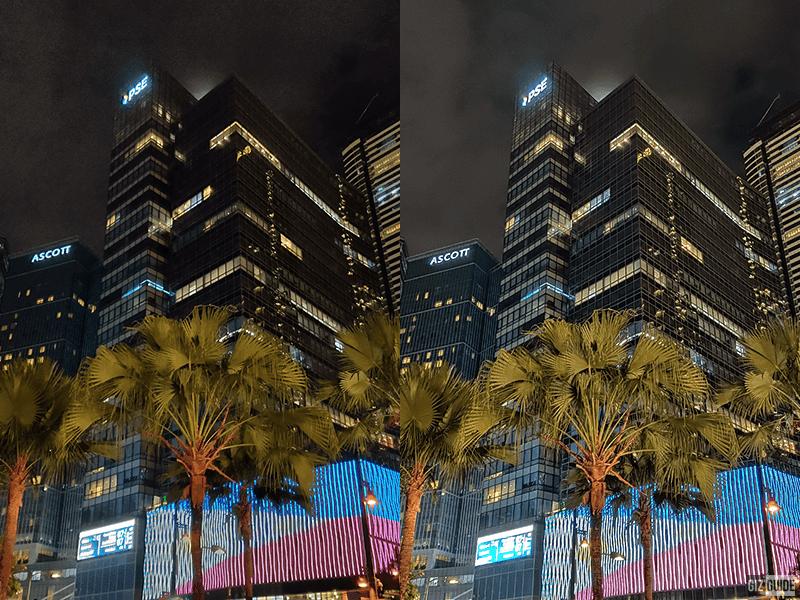 Auto vs nightscape 1