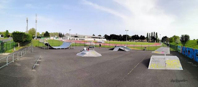 skatepark Lisses Lisse