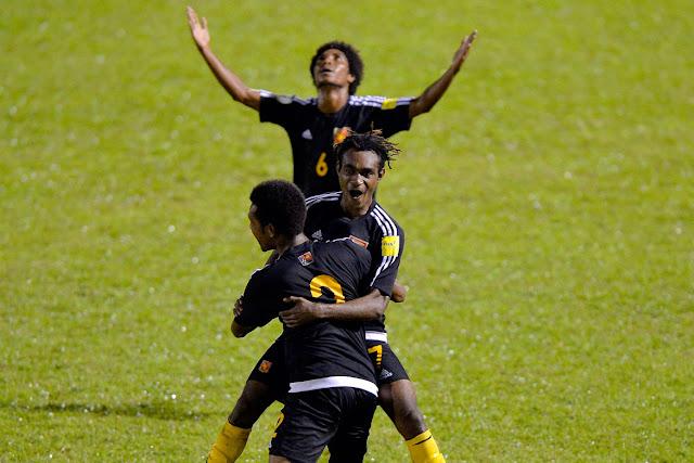 selección de futbol de Papúa Nueva Guinea, marzo de 2017