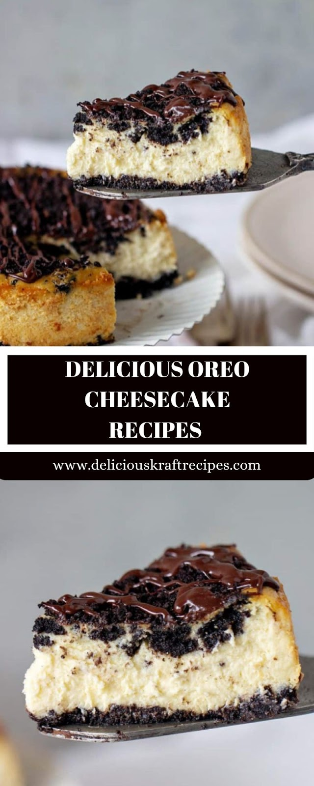 DELICIOUS OREO CHEESECAKE RECIPES