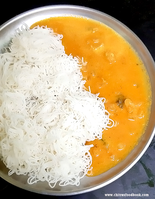 salem tomato kurma for idli dosa