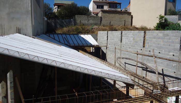 FOTOS DA CONSTRUÇÃO DO TEMPLO EBENEZER