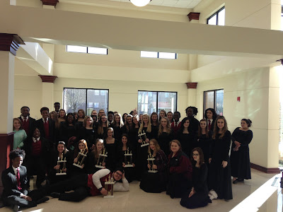 FCAHS Choirs at competition