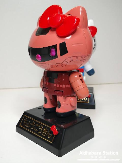 Figuras: Review de Chogokin Hello Kitty Gundam y Char's Zaku II - Tamashii Nations