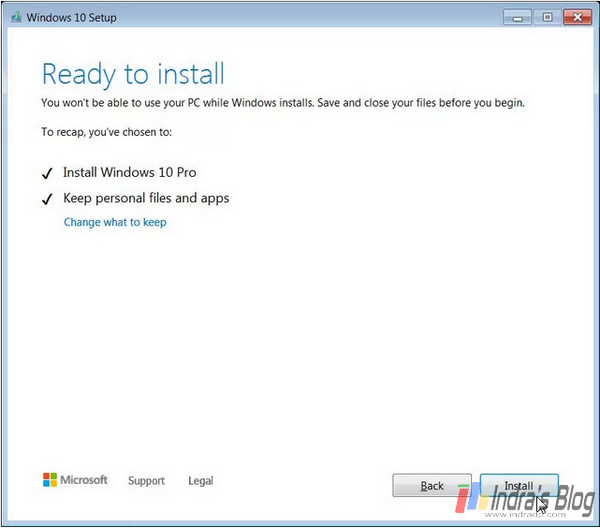 Cara upgrade ke Windows 10