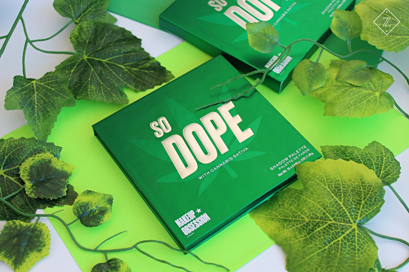 SO DOPE with Cannabis Sativa Palette Makeup Obsession