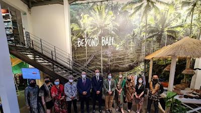 Toko Konesp Merci Beyond Bali, Suasana Indonesia di Tengah Kota Paris