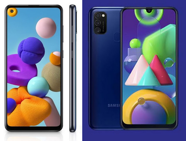 Komparasi Samsung Galaxy A21s vs Samsung Galaxy M21: Harga Beda Tipis, Pilih Mana?