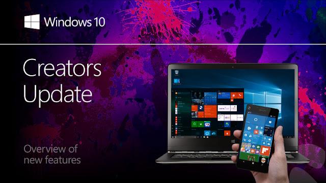 Windows 10 Pro Creators Update