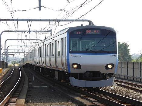 相模鉄道 各停 二俣川行き8 10000系(2015.5.31ダイヤ改正で日中廃止)