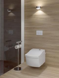 Modern Bathroom in Keller Home