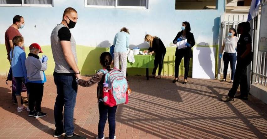 Israel exhorta a países a no cometer el mismo error de reiniciar la Clases Escolares Presenciales