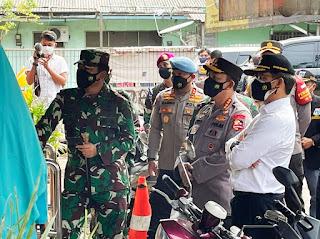 Panglima TNI Dan Kapolri Sidak Pos PPKM Di 3 Lokasi DKI Jakarta