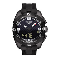 Tissot T-Touch Expert Solar Watch black rubber