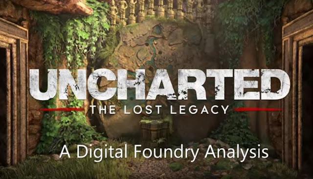إستعراض تقني للعبة Uncharted: The Lost Legacy على جهاز PS4 و كذلك PS4 Pro