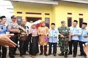 Tatu Chasanah Resmikan Bedah Rumah Kampung Baznas di Ciomas