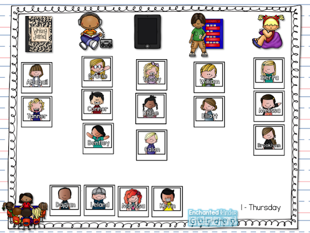 Center rotations for the classroom for teacher timesavers