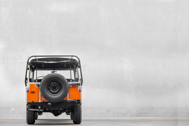 Land Rover Series 3 Restored by CoolNVintage