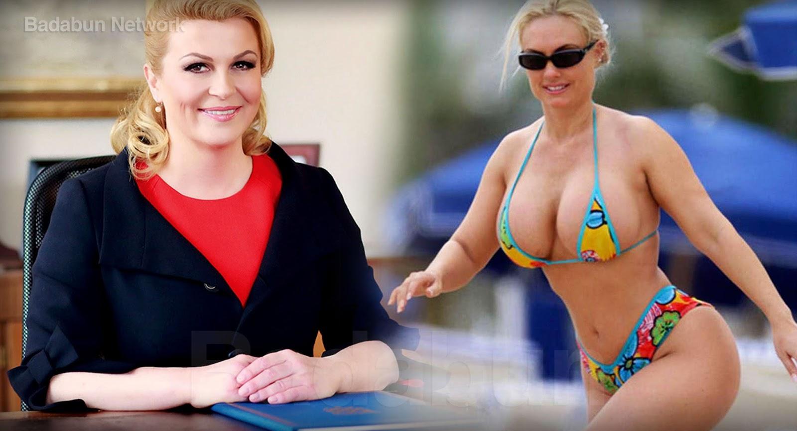Presidente De Croacia En Bikini - takvim kalender HD