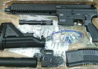 Review Mainan WGG HK416D (Water Gel Gun)