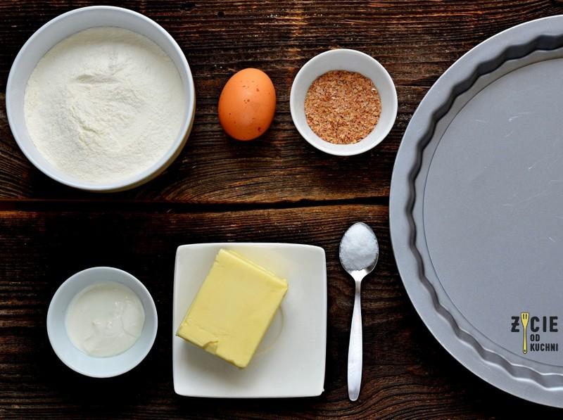 ciasto na tarte, tarta, grzyby, prawdziwki, grzybobranie, tarta zgrzybami, przepisy z grzybami