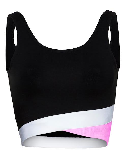 Pink Crop Vest