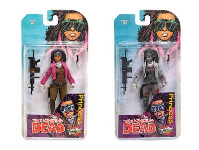 New York Comic Con 2018 Exclusive The Walking Dead Princess of Pittsburgh Juanita Sanchez Action Figure by Skybound x McFarlane Toys