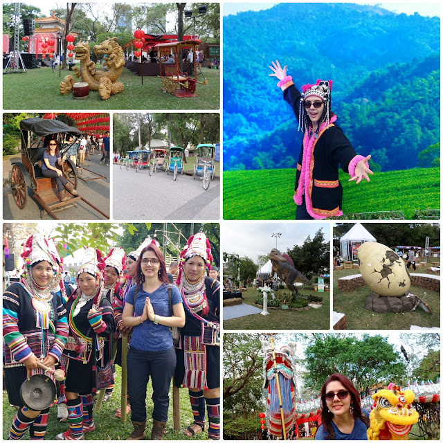Parque Lumpini em festa na Thailand Tourism Festival 2017.