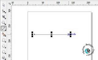 cara membuat garis lurus dengan 2-point line
