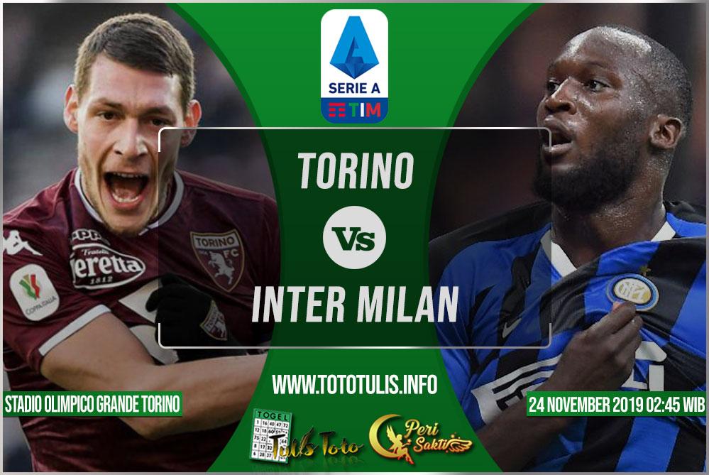 Prediksi Torino vs Inter Milan 24 November 2019