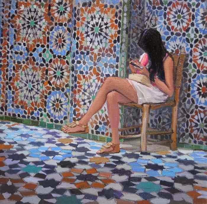Красота простых моментов жизни. Nadia Tsakova